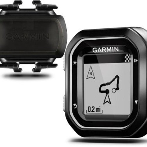 Garmin Edge 25 GPS Cycling Computer Cadence Bundle