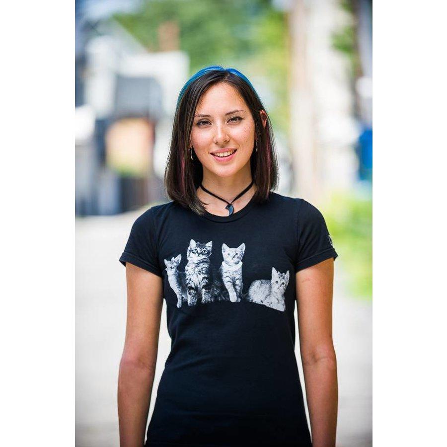 fddfcca114f8 Cat 4 Womens T-Shirt
