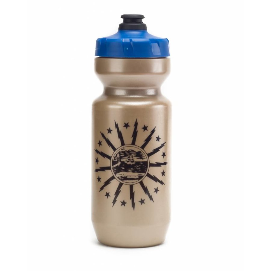 Purist Buffalo Bottle Gold 22oz