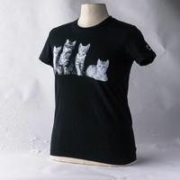 Cat 4 T Shirt Wms