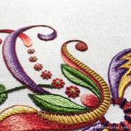 October 12 Hands on embroidery class and Anita trunk show