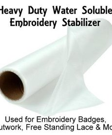 """Badgemaster - Suitable for badges, freestanding lace etc. 15"""" x 10 yd Roll"""