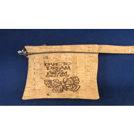 August 24 Lined Cork Fabric Wristlet Sewing Class