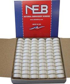 NEBS NEBS plastic sided prewound L bobbin 144ct