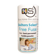 Quilters Select Free Fuse Basting Powder - 2 Oz Dispenser Tube