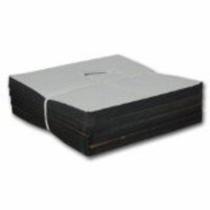 """CM22A Cutaway 2.2 oz. Black 8""""x8"""" precut squares 100 count"""