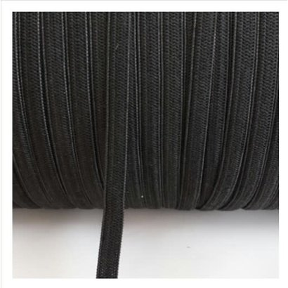 Black Elastic 1/4 inch - 20 yards