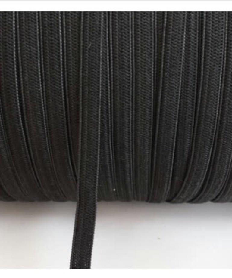 Black Elastic 1/4 inch - 20 yards