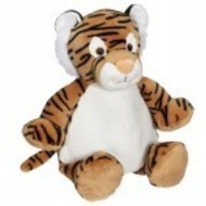 Checker Tory Tiger Buddy 16in