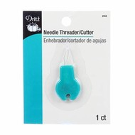 Checker Needle Threader with Cutter