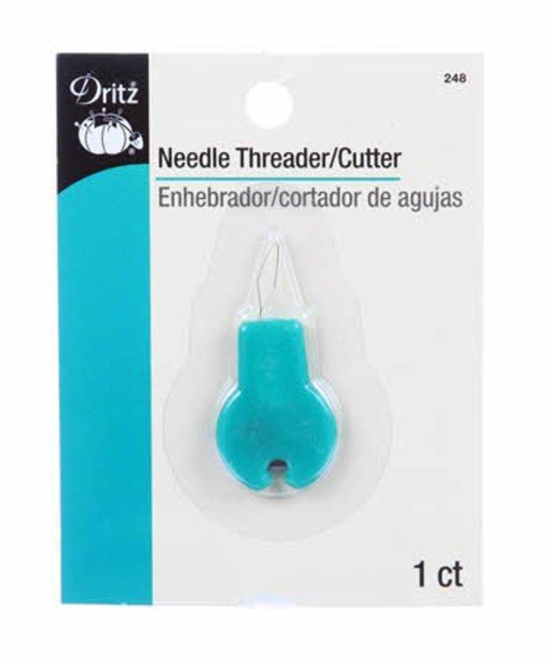 Checker Dritz Needle Threader with Cutter