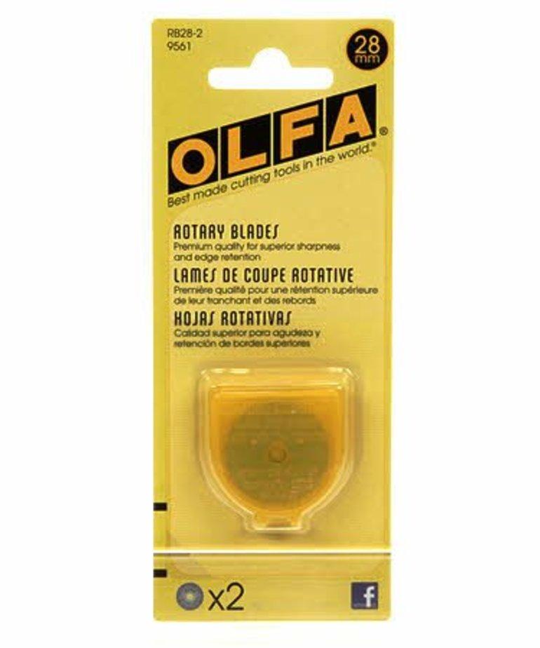 Checker OLFA 28mm Rotary Blade