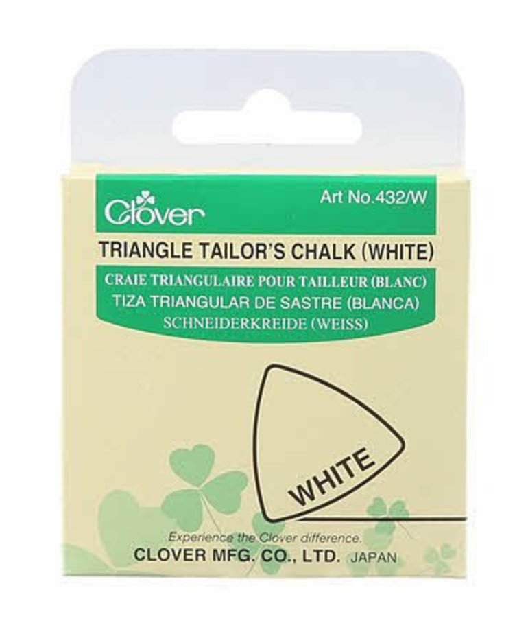 Checker Triangle Tailor's Chalk White
