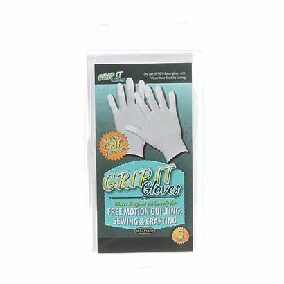 Checker Grip It Gloves Small