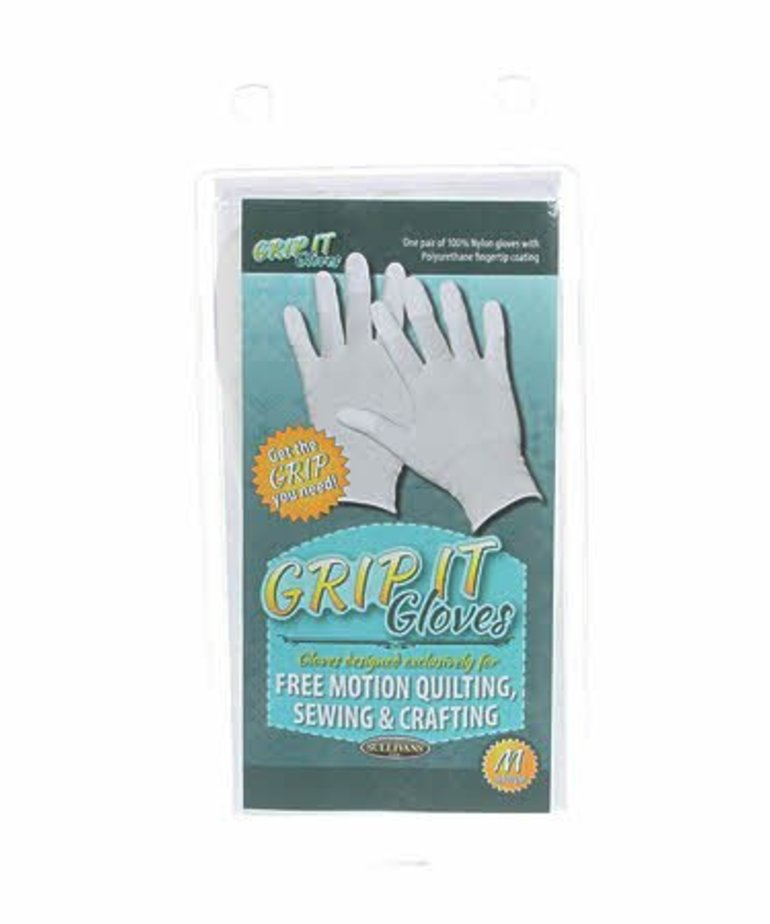 Checker Grip It Gloves Medium