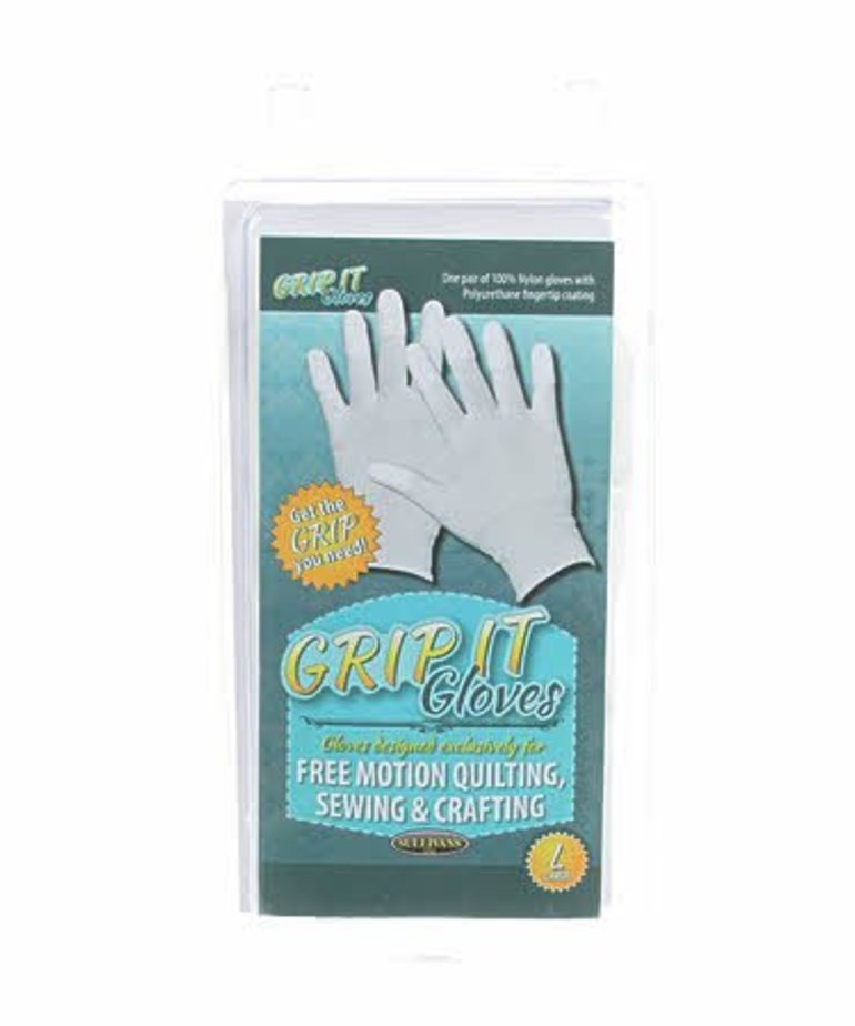 Checker Grip It Gloves Large