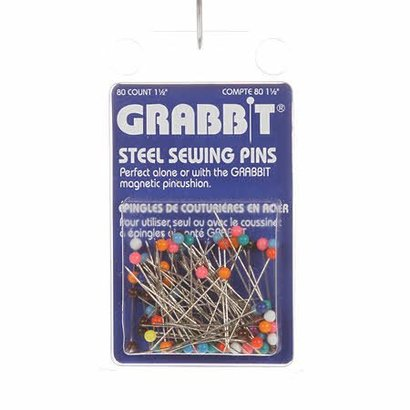 Checker Steel Pin for Grabbits Size 28 - 1 1/2in 80ct