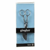 Checker Gingher 6in Knife Edge Applique Scissor