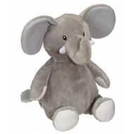 Checker ELFORD ELEPHANT BUDDY GREY 16IN