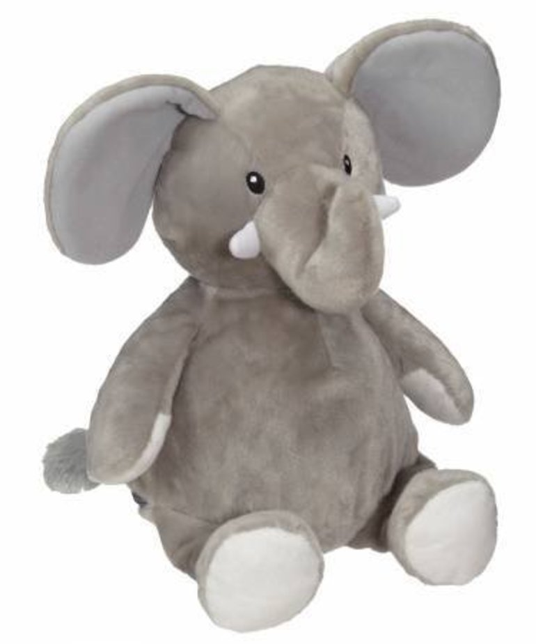 Checker ELFORD ELEPHANT BUDDY GREY 16IN