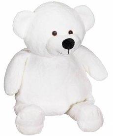 Checker Mister Buddy Bear White 16in