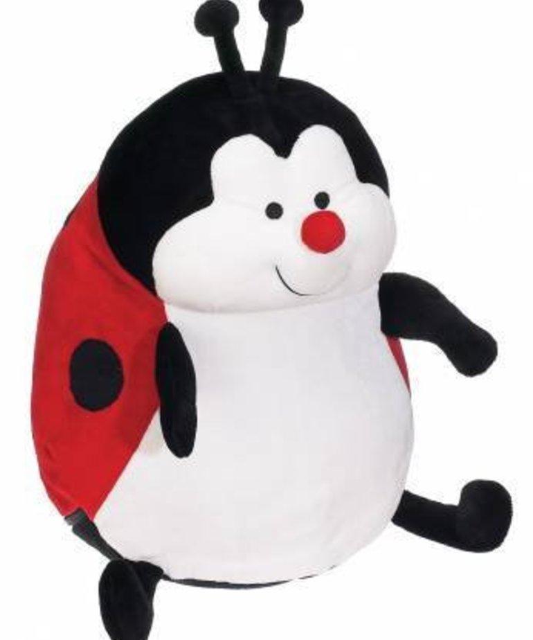 Checker Landy Ladybug Bubby Red 16in