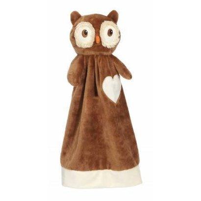 Checker Blankey Buddy Owl 20in