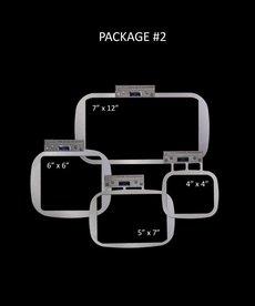 "Durkee EZ Frame Single Needle PKG #2 Includes One (1) Each : 7"" x 12"", 5"" x 7"", 6"" x 6"", 4"" x 4"" frames"