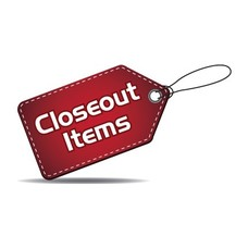 Closeout Items *coming soon*