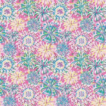 Oracal 651 Patterned Adhesive Vinyl - Boom Boom Pink 12