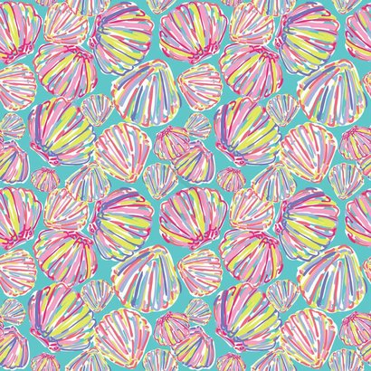 Oracal 651 Patterned Adhesive Vinyl - By The Shore Blue 12