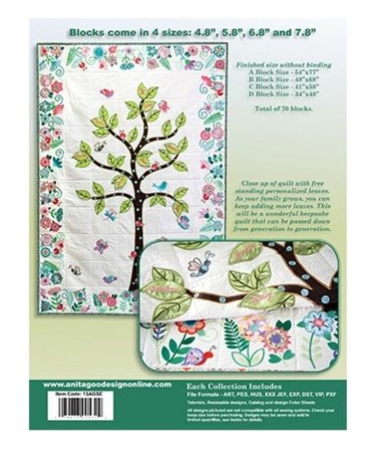 Anita Goodesign Special Editions: Tree of Life
