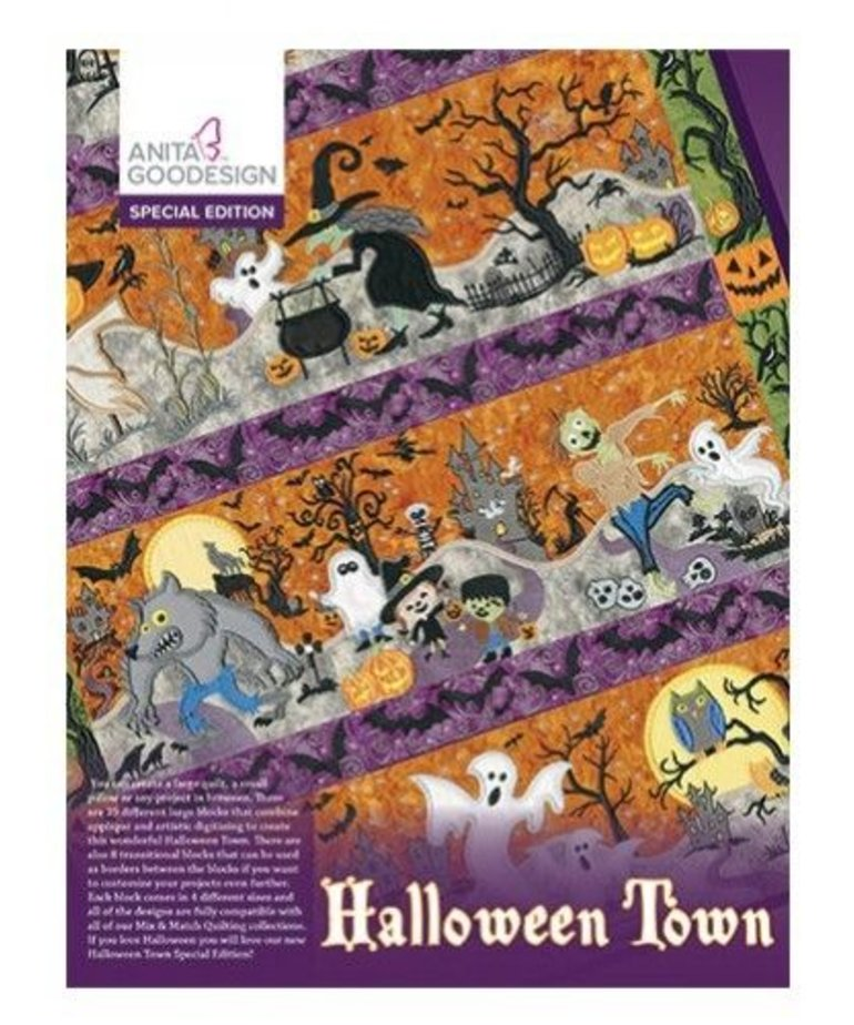 Anita Goodesign Special Editions: Halloween Town