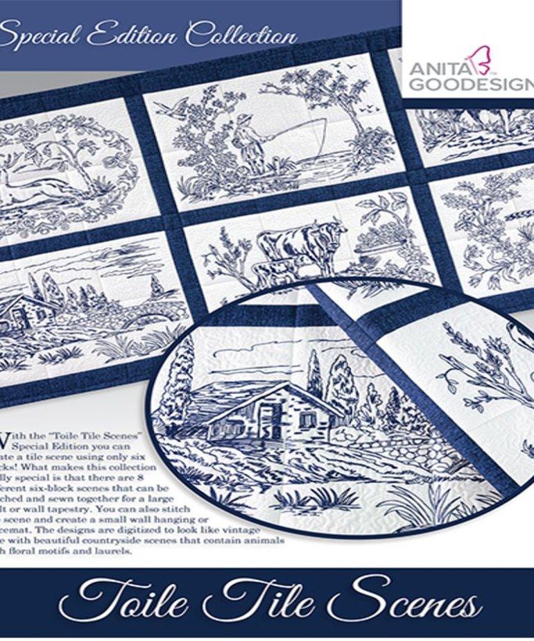 Anita Goodesign Special Editions: Toile Tile Scene
