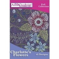 Anita Goodesign Full Collections: Charlottes Flowers