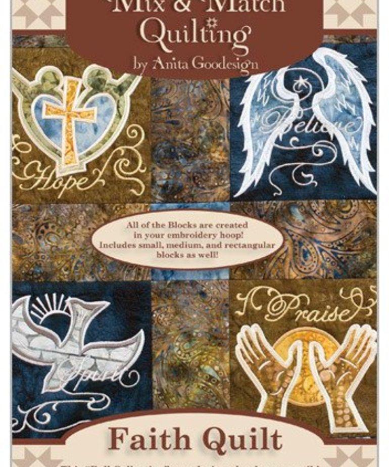 Anita Goodesign Full Collections: Faith Quilt