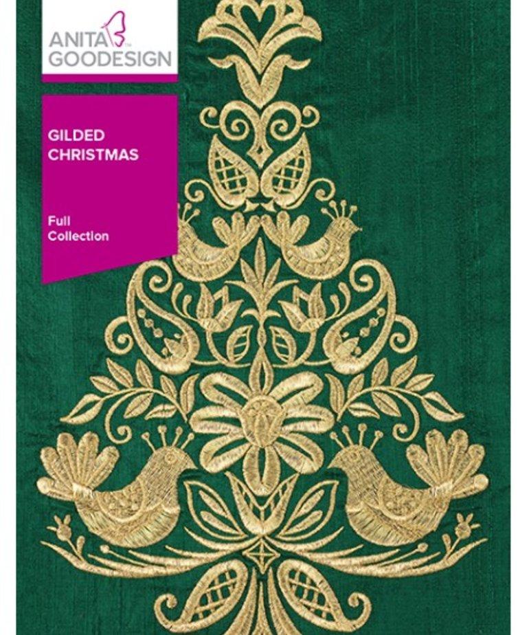 Anita Goodesign Full Collections: Gilded Christmas