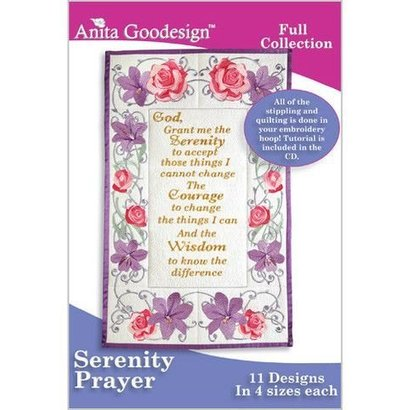 Anita Goodesign Full Collections: Serenity Prayer