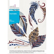 Anita Goodesign Mini Collections: Feathers
