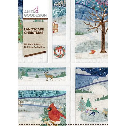 Anita Goodesign Mini Collections: Landscape Christmas