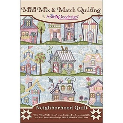 Anita Goodesign Mini Collections: Neighborhood Quilt