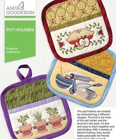 Anita Goodesign Mini Collections: Pot Holders