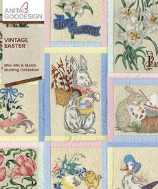Anita Goodesign Mini Collections: Vintage Easter
