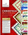 Anita Goodesign Premium Editions: Christmas Blocks and Borders