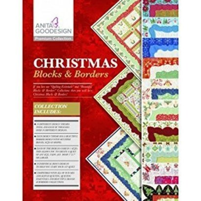 Anita Goodesign Premium Editions: Christmas Blocks and Borders