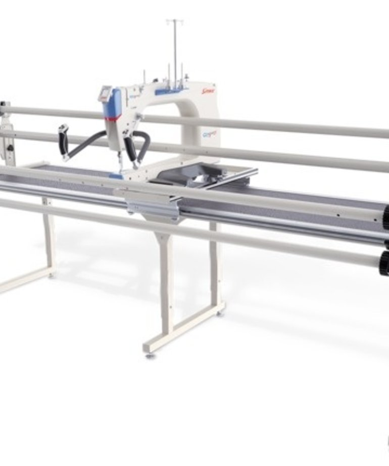 Grace Qnique 21 Longarm Quilt Machine +Continuum 10-12 Frame +Quilters Creative Touch QCT5PRO Quilt Motion Robotics Software, Light Bar, Laser Stylus