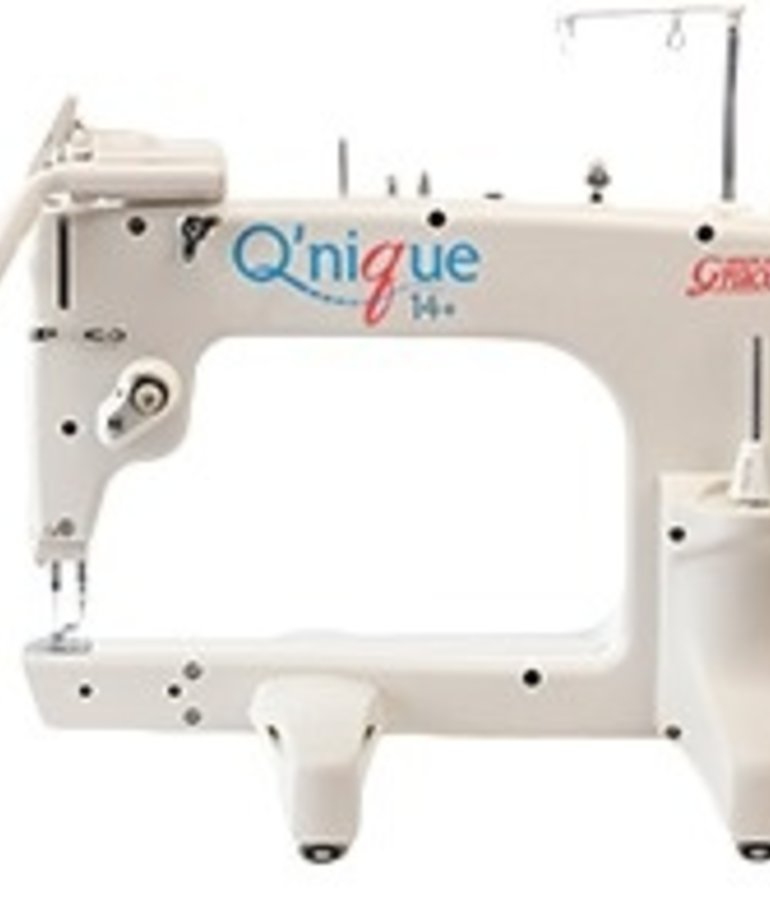 Grace Grace Qnique 21 Longarm Machine, Stitch Regulation +Continuum 8-10' or Op.12' Metal Quilting Frame +Light Bar +Laser Styus, Optional QCT4/Quilt Motion