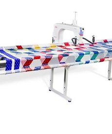 "Grace Qnique 21"" Longarm Quilting Machine, Stitch Regulation +Continuum 8, 10 or Optional 12' Wide Quilting Frame"