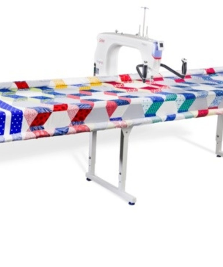 "Grace Qnique Q19"" Longarm Quilting Machine, Stitch Regulation +Grace Continuum Frame + Luminess Overhead Light Bar"