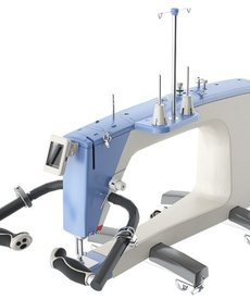 Grace Qnique Q19 Longarm Quilting Machine, Dual V-track Wheels, Stitch Regulation, Encoders, Front Handles, Control Panel